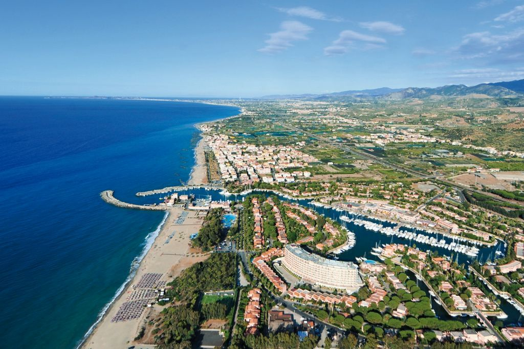 Starting point for our sailing trip in Sicily