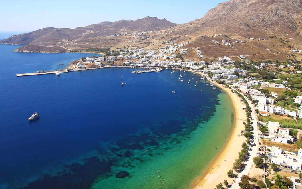 Serifos - a nice stop on our sailing in Cyclades adventure.