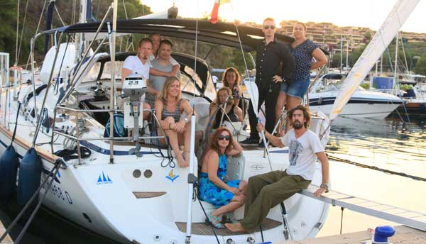 Sailing in Sardinia Corsica Week26
