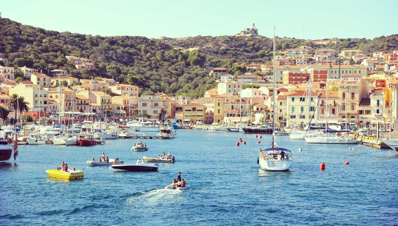 La Maddalena, Sailing Sardinia & Corsica