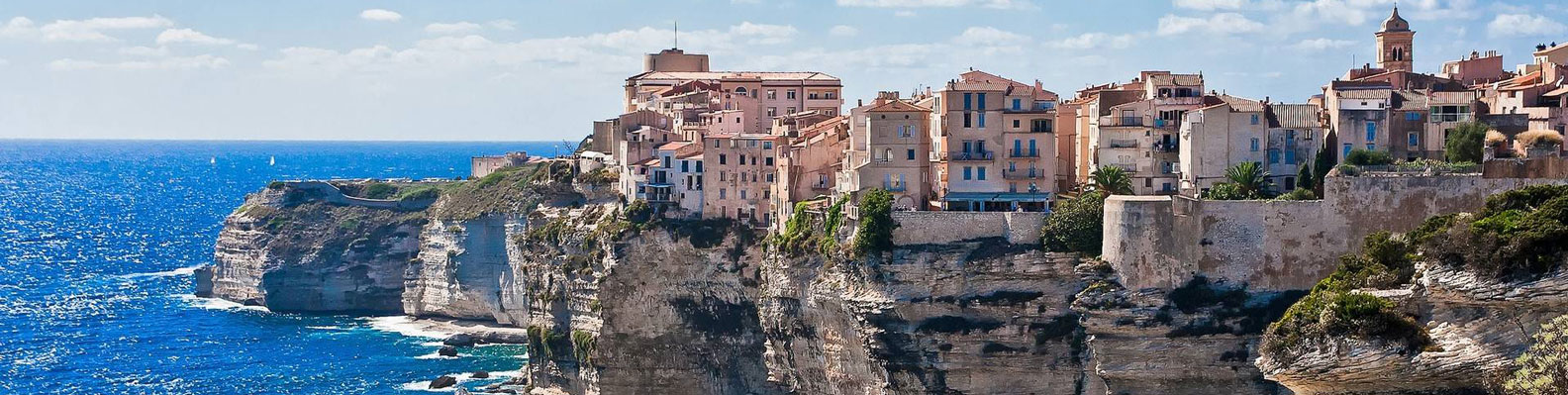 Bonifacio, Sardegna and Corsica Header