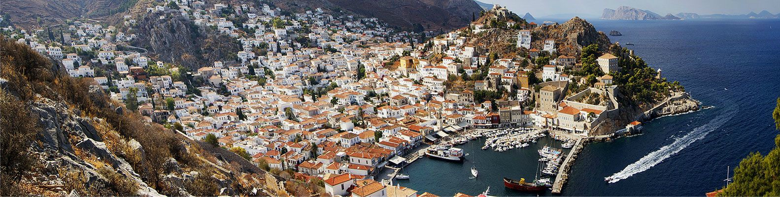 Hydra Town, Port, Sailing in Greece
