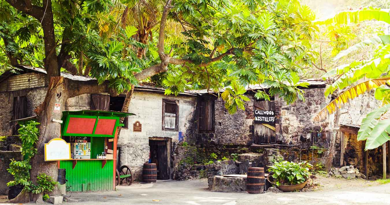 Rum Tasting at Callwood Rum Distillery, British Virgin Islands, Caribbean