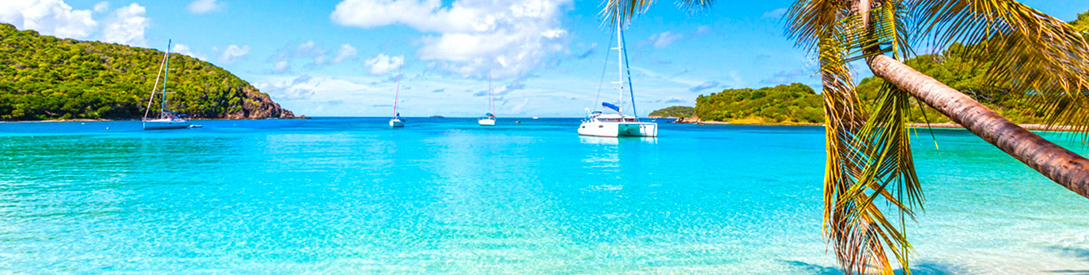Flotilla Sailing Holidays in The Caribbean, `Rumtastic` Route. Sailing in  British Virgin Islands ...