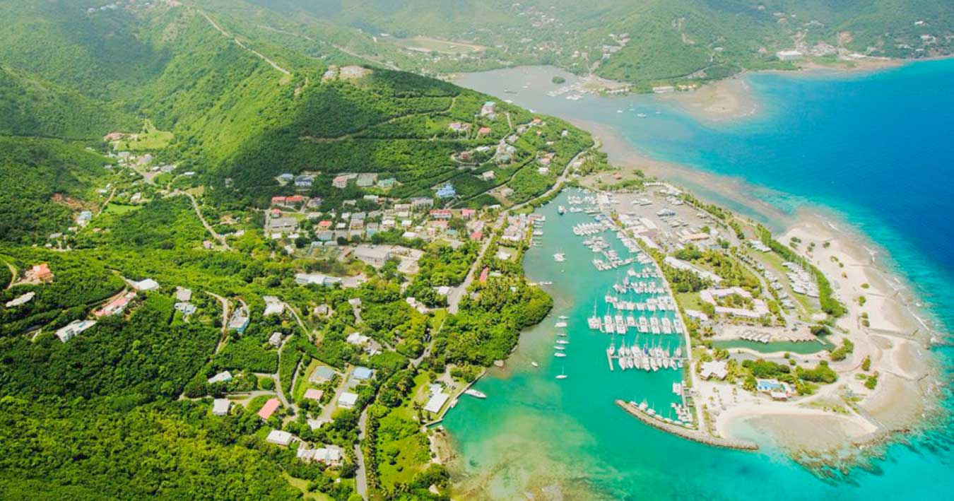 Tortola, British Virgin Islands, Starting point of Naleian Sailing Holidays in the Caribbean