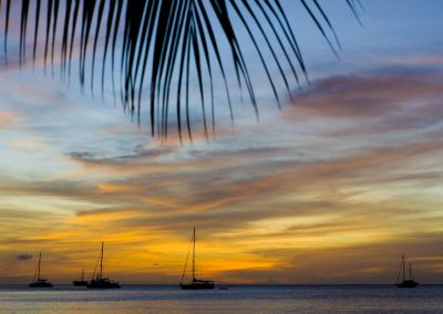 Sunset in The BVI, Anegada Island, Caribbean Sailing Holidays