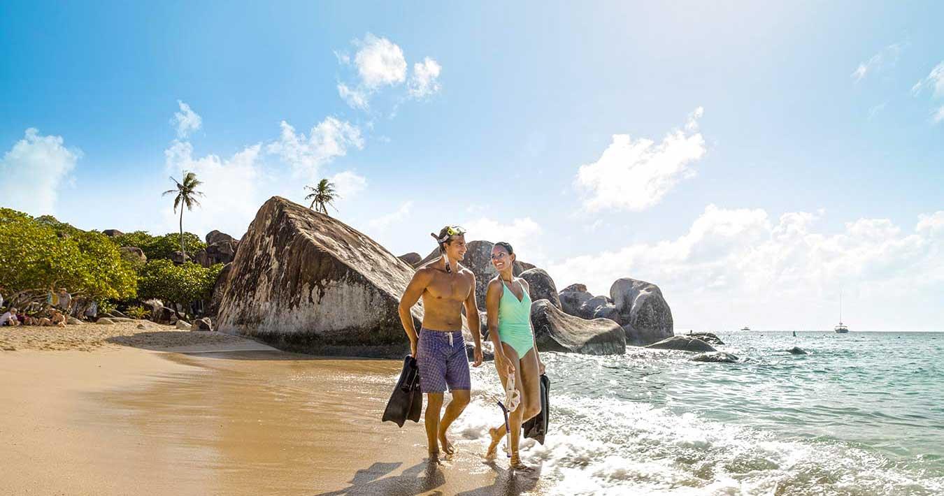 The Baths, Virgin Goroda, BVI, Sailing Holidays in the Caribbean