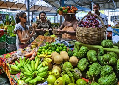 Local Food Market, Caribbean, British Virgin Islands