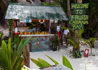 La Digue, Fruta Cabana Bar