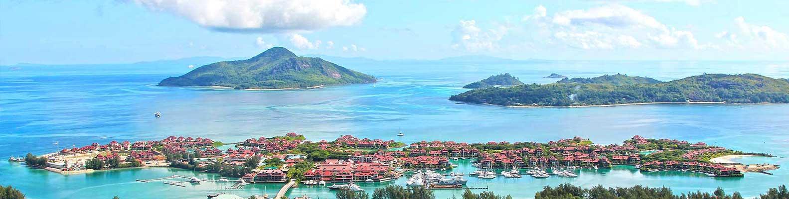 Eden Island Marina, Mahe, Seychelles